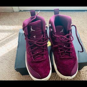 Air Jordan Retro 12's Bordeaux